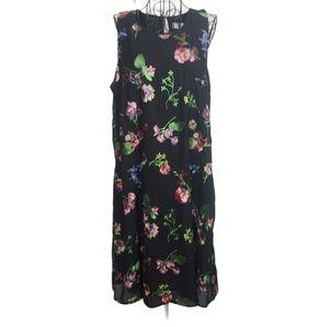 Calvin Klein Embroidered Floral Shift Dress